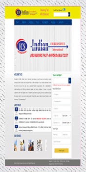 Indian-Courier-website